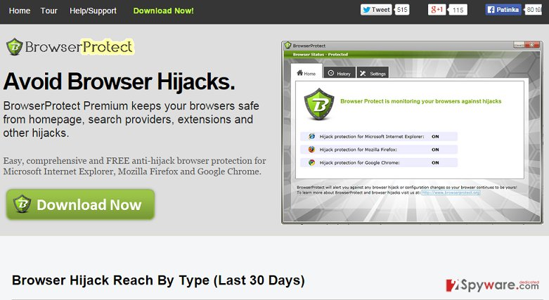 Browser Protect snapshot