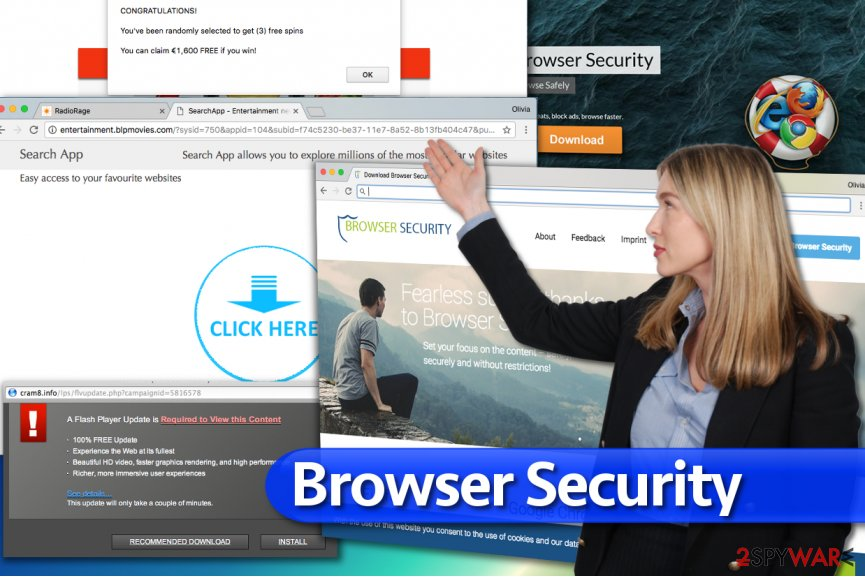 Browser Security ads