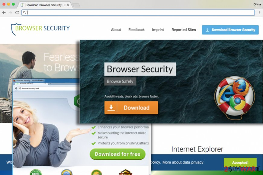 Browser Security virus