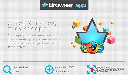 BrowserApp virus snapshot