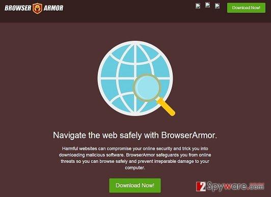 BrowserArmor Ads snapshot