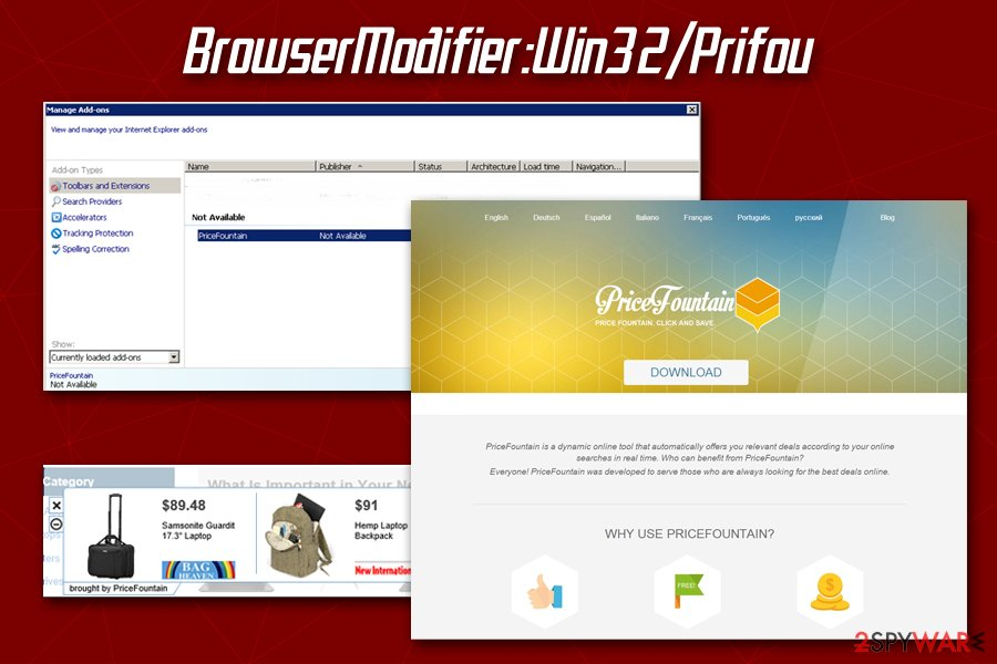 BrowserModifier Prifou