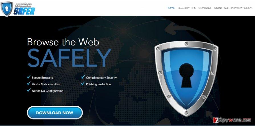 BrowserSafer virus