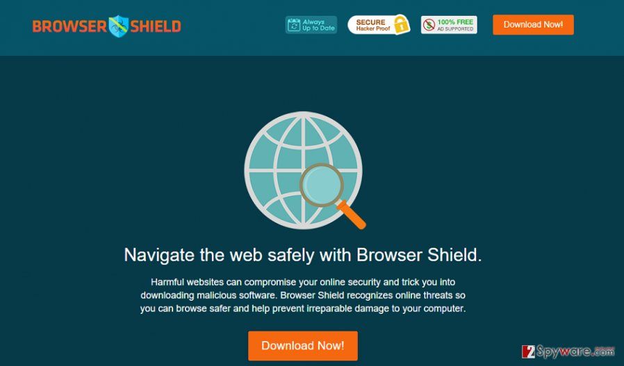 Browser Shield virus