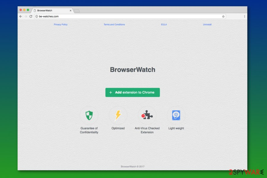 Image of BrowserWatch homepage
