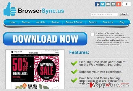 BrowserSync virus snapshot