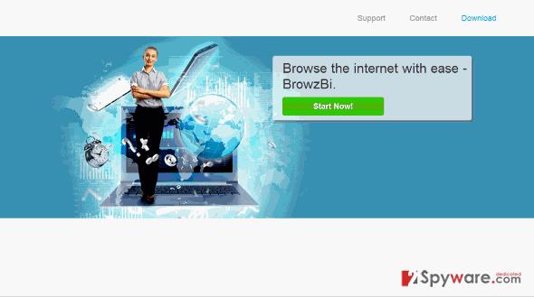 BrowzBi Deals and BrowzBi Ads snapshot