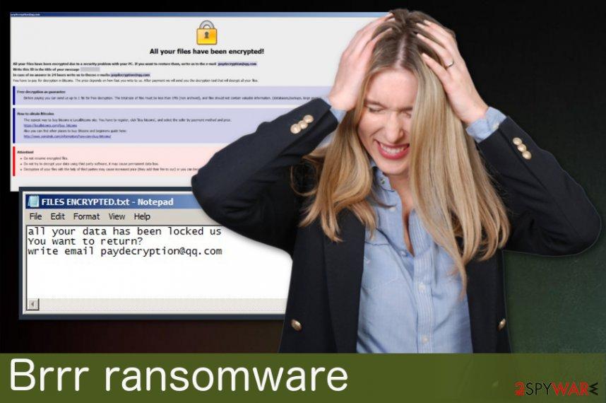 Brrr ransomware virus