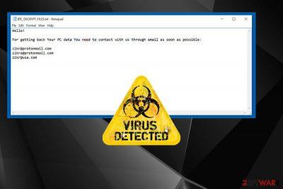 BTC ransomware