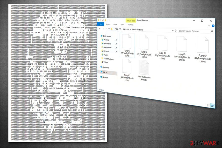 BtcKING ransomware image