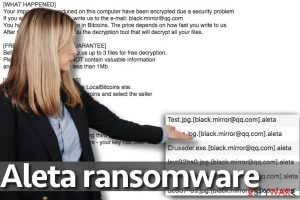 Aleta ransomware virus