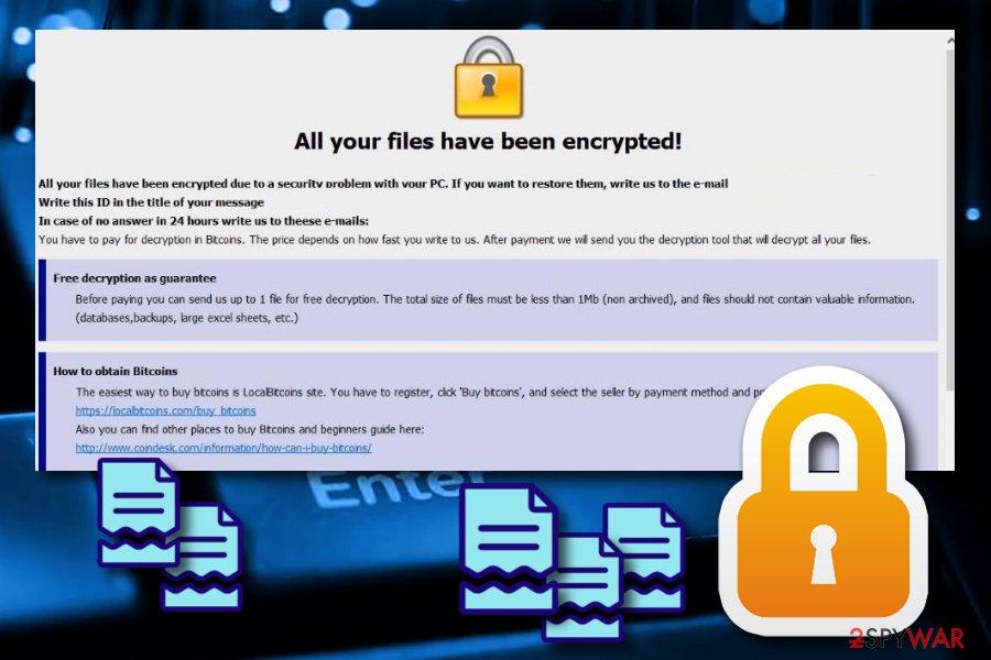 Btix ransomware virus
