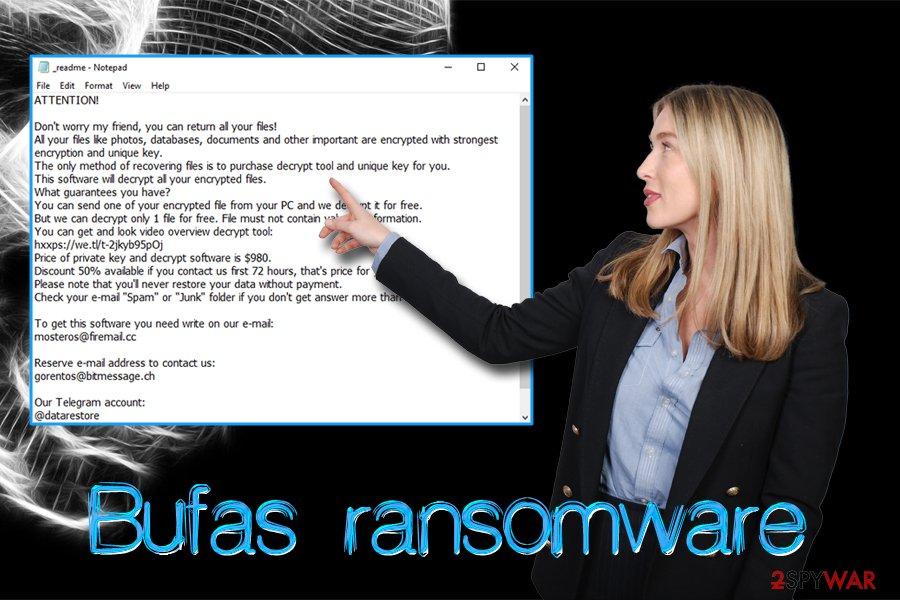 Bufas ransomware virus
