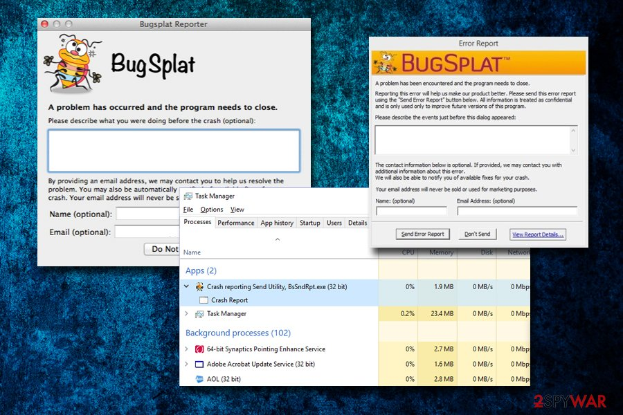 BugSplat application