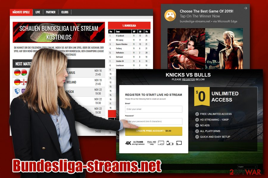 Bundesliga-streams.net virus