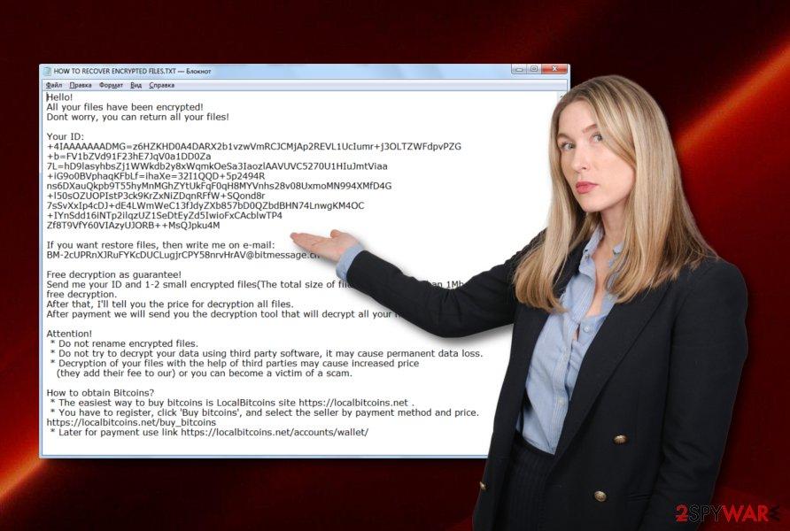 Burn ransomware