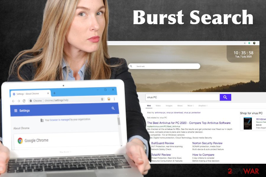 Burst Search virus