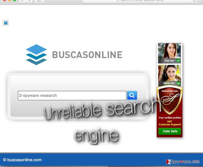 Buscasonline.com hijacker