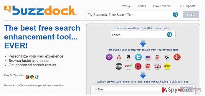 Buzzdock hijack