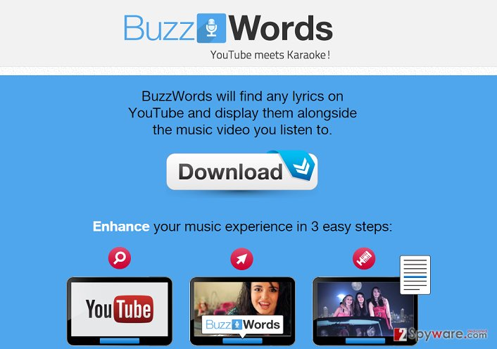 BuzzWords ads