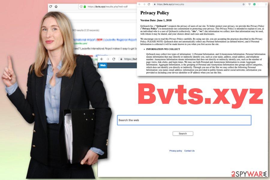 Bvts.xyz pop-up virus