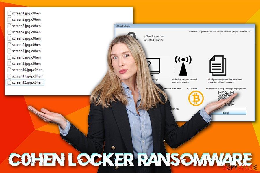 C0hen Locker ransomware virus