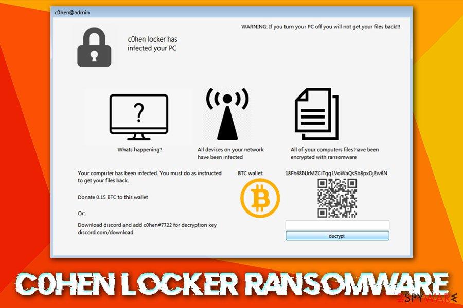C0hen Locker ransomware