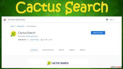 Cactus Search virus