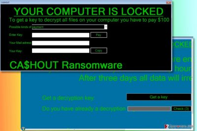 CA$HOUT ransomware