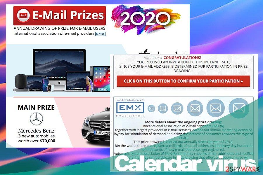 Calendar virus versions