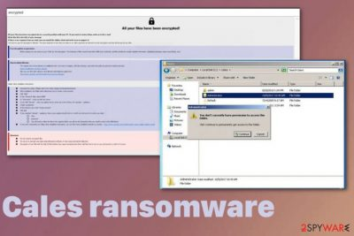 Cales ransomware
