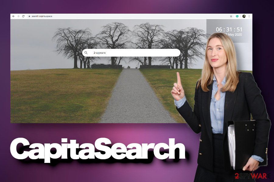 CapitaSearch virus