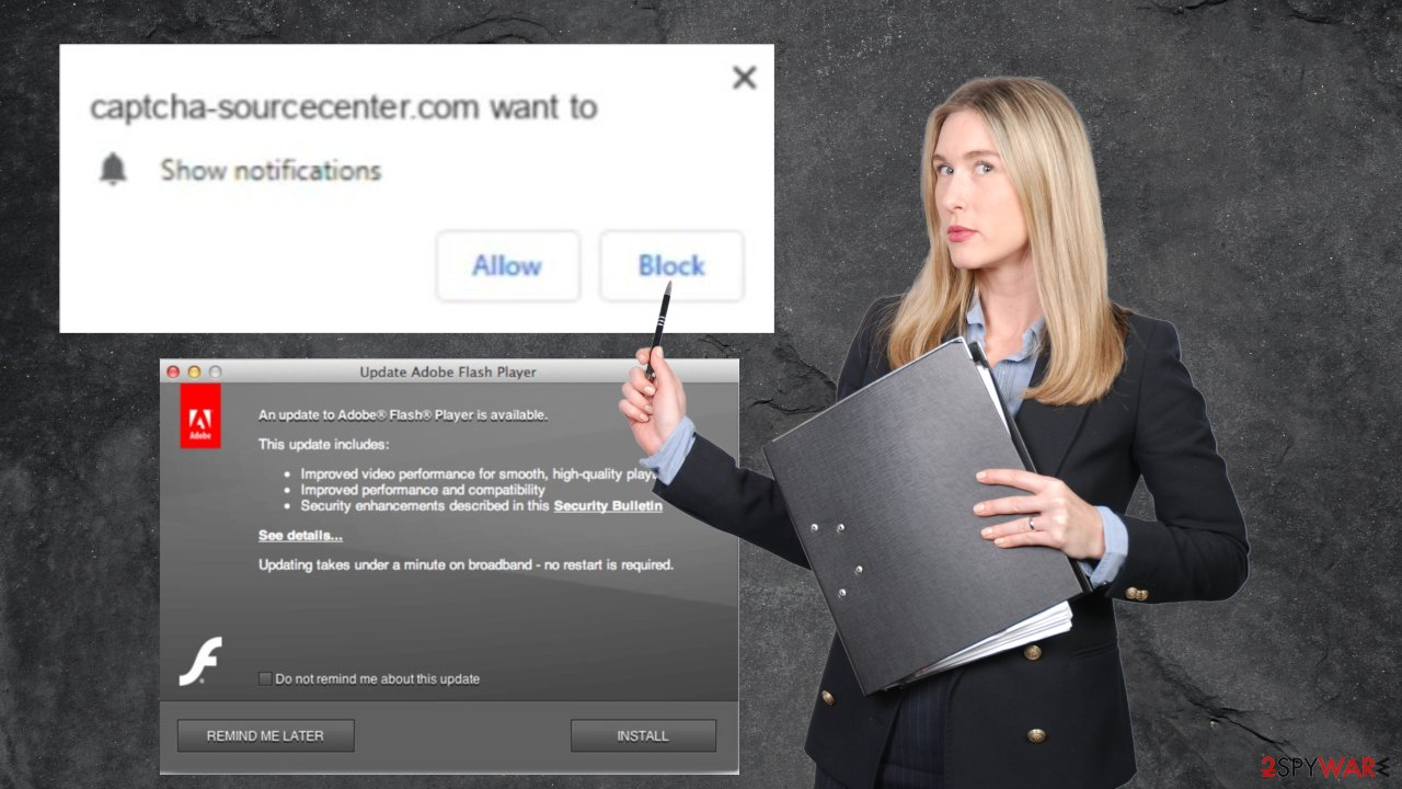 Captcha-sourcecenter.com virus