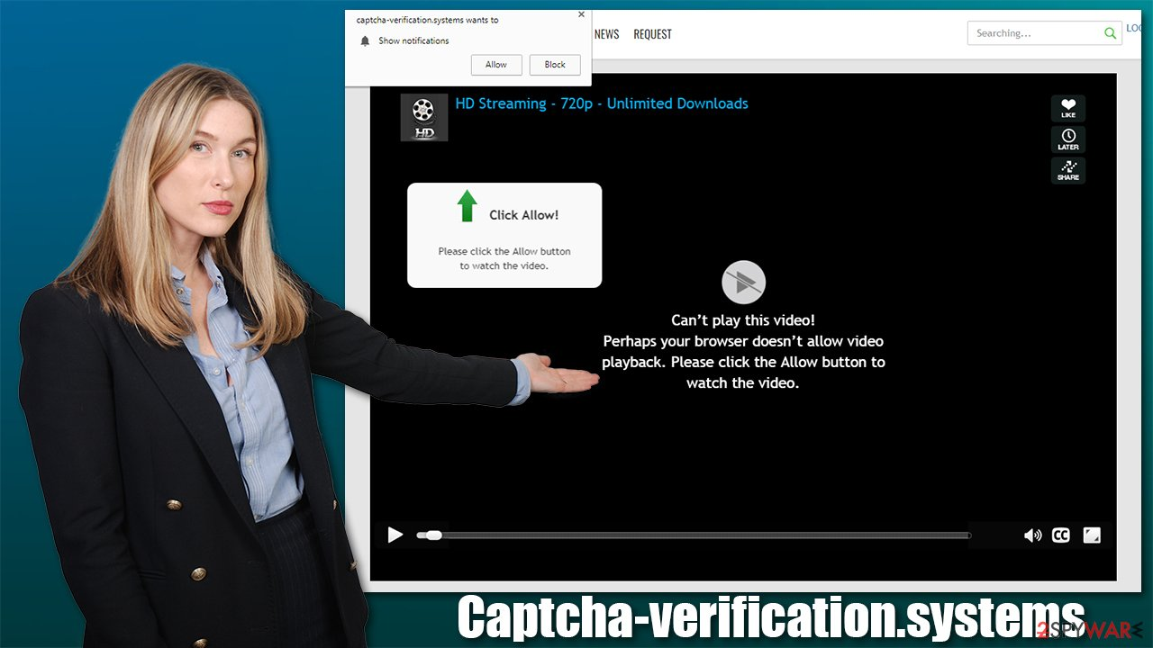Captcha-verification.systems redirect