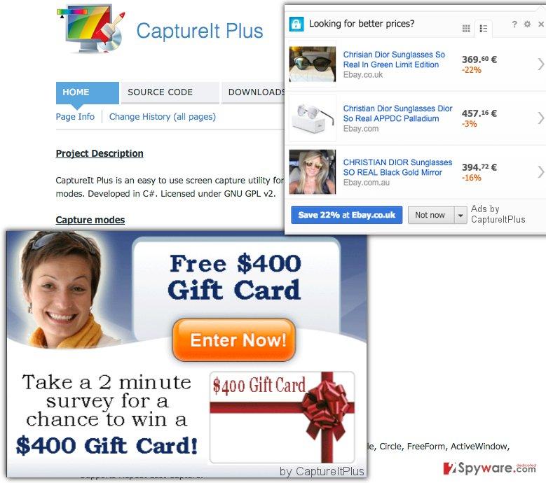 Ads by CaptureItPlus