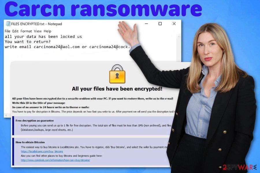 Carcn ransomware virus