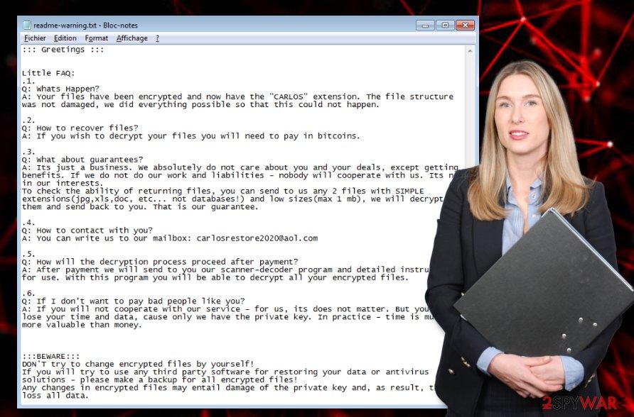 CARLOS ransomware