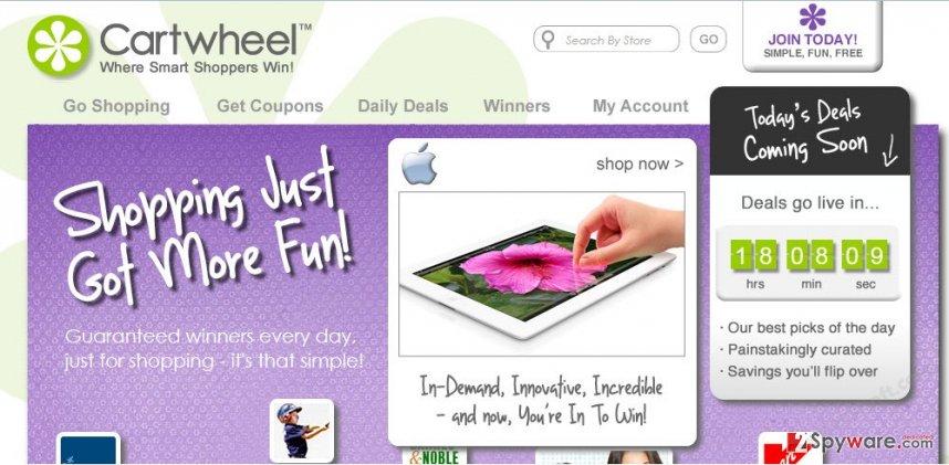 Cartwheel Shopping ads snapshot
