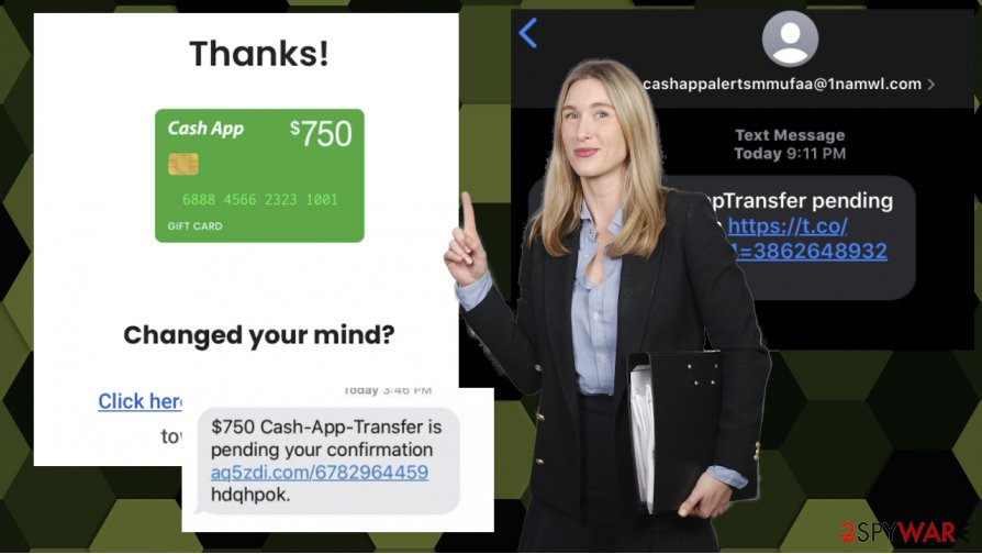 Cash-App-Transfer is pending your confirmation virus