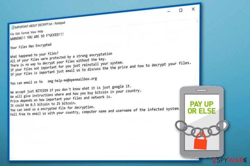 Cassetto ransomware