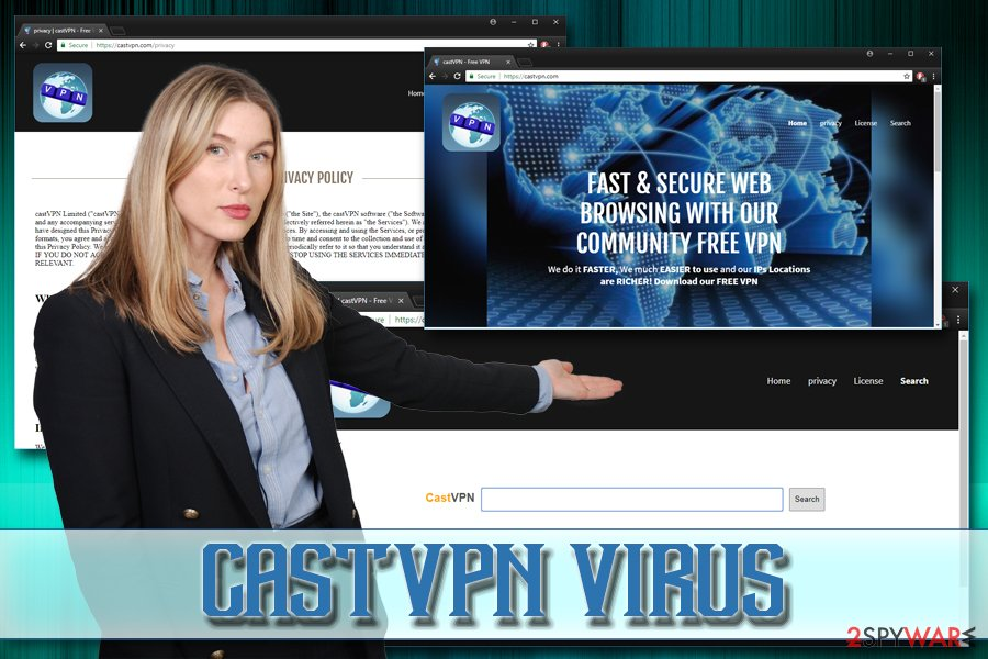 CastVPN adware