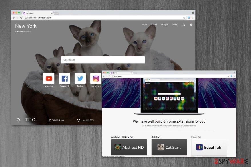 Catstart.com image