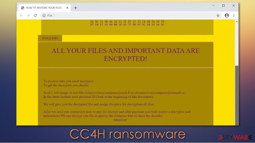 CC4H ransomware