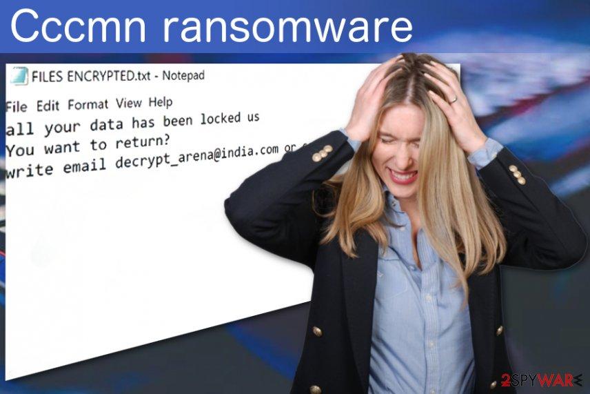 Cccmn ransomware