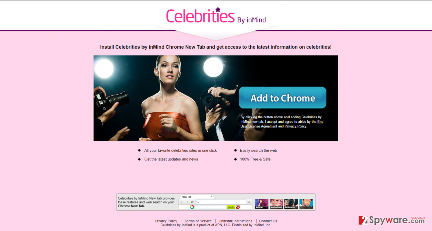 Celebrities by inMind