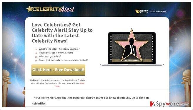 Ads by Celebrity Alert snapshot