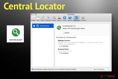 Central Locator adware