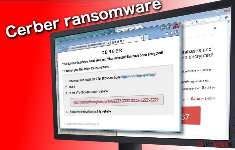 Cerber ransomware fix