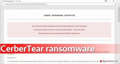 CerberTear ransomware virus