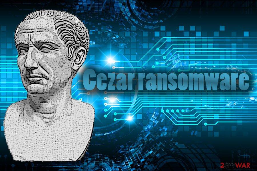 Cezar crypto-virus